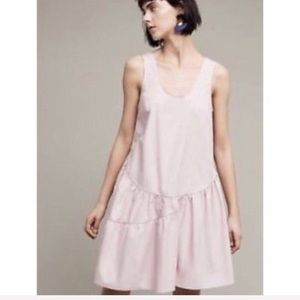 Anthropologie Holding Horses Pink Swing Dress-S